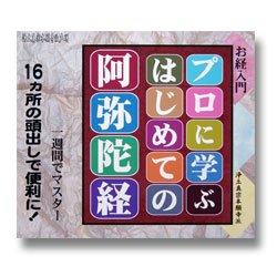 画像1: CD プロに学ぶはじめての阿弥陀経